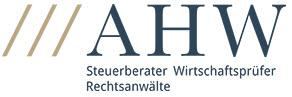 Logo der AHW - Steuerberater, Wirtschaftsprüfer, Rechtsanwälte