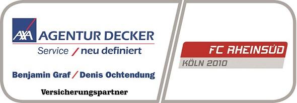 Logo des Axa-Betreuers Claus Decker in Köln